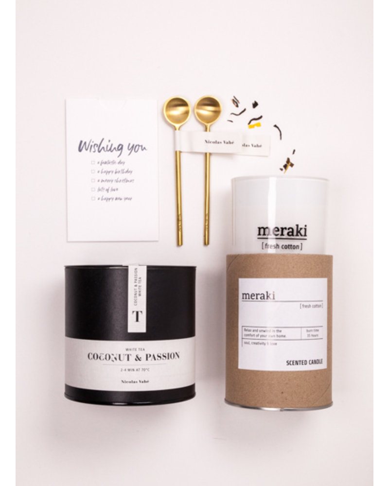 Nicolas Vahé  Giftbox 'Tea time for two'