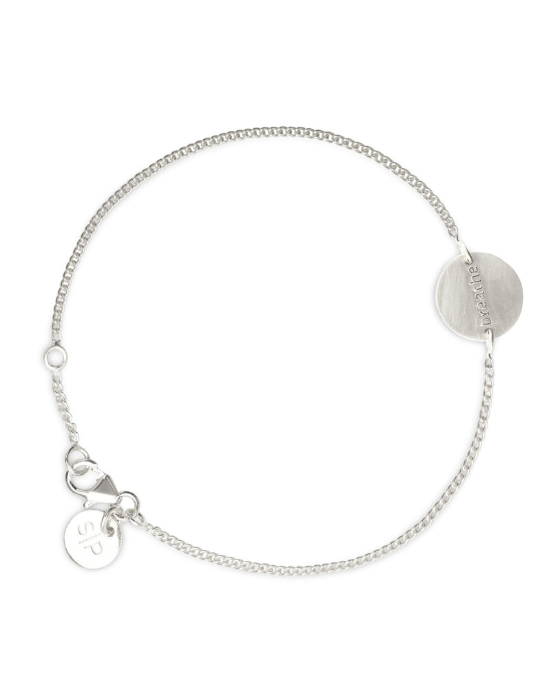 Syster P Syster P Minimalistica Breathe armband | zilver