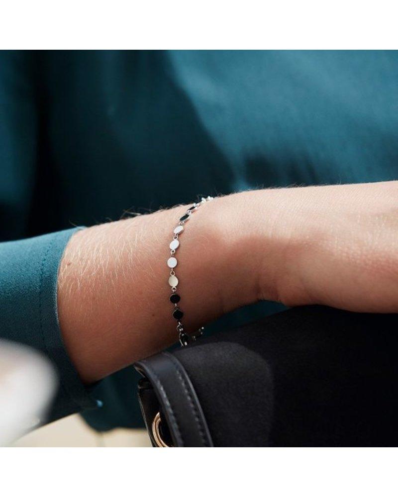Edblad Edblad Confetti armband multi | kleur zilver