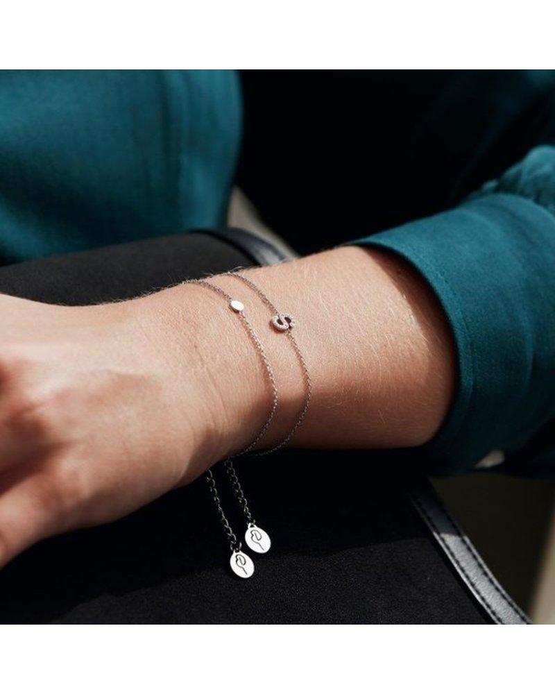 Edblad Edblad Confetti armband | kleur zilver