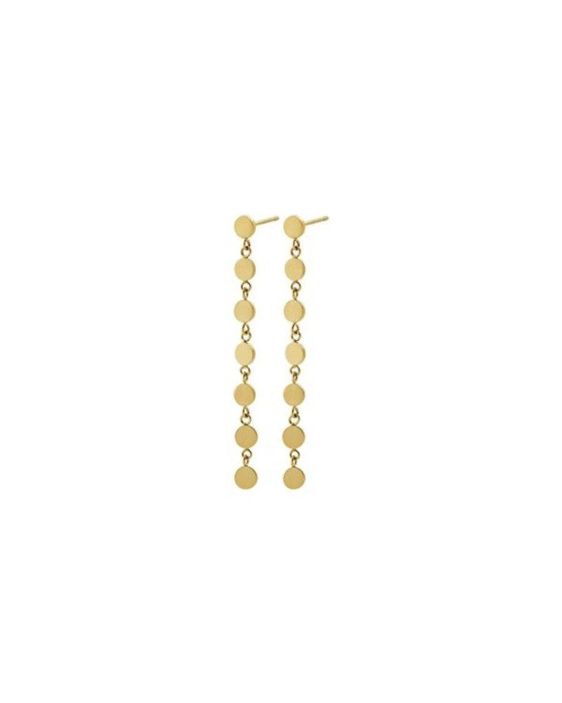 Edblad Edblad Confetti oorbellen | kleur goud