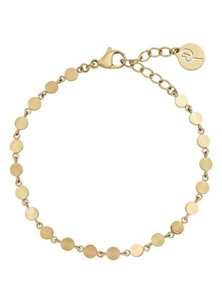 Edblad Confetti armband multi goud