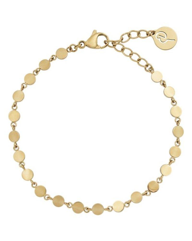 Edblad Edblad Confetti armband multi | kleur goud