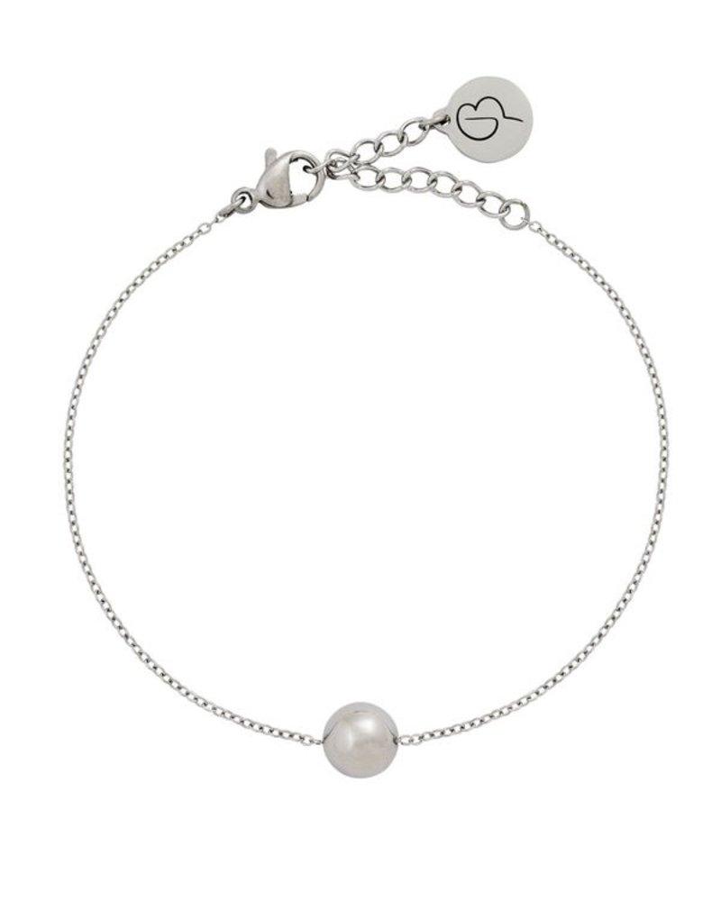 Edblad Edblad Bubble mini armband | kleur zilver