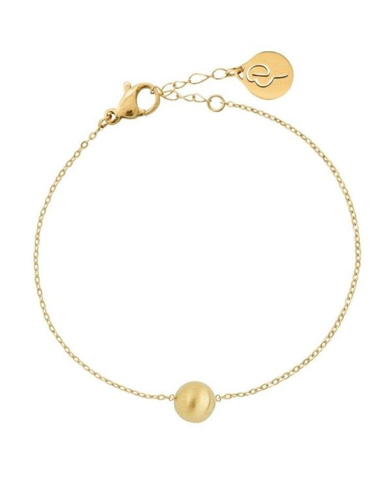 Edblad Edblad Bubble mini armband | kleur mat goud