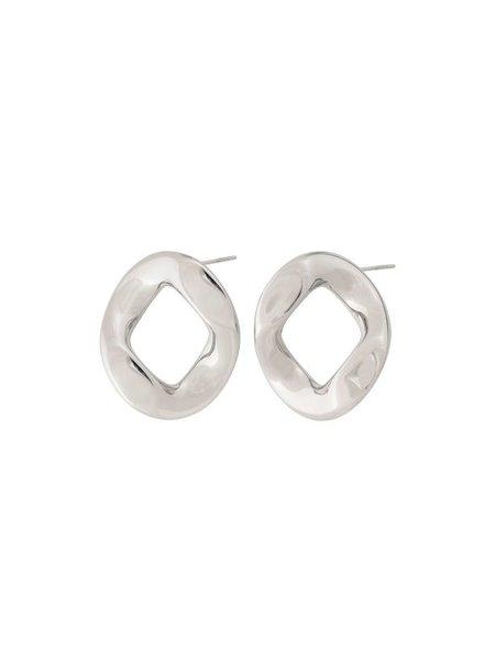 Edblad Malibu oorbellen zilver