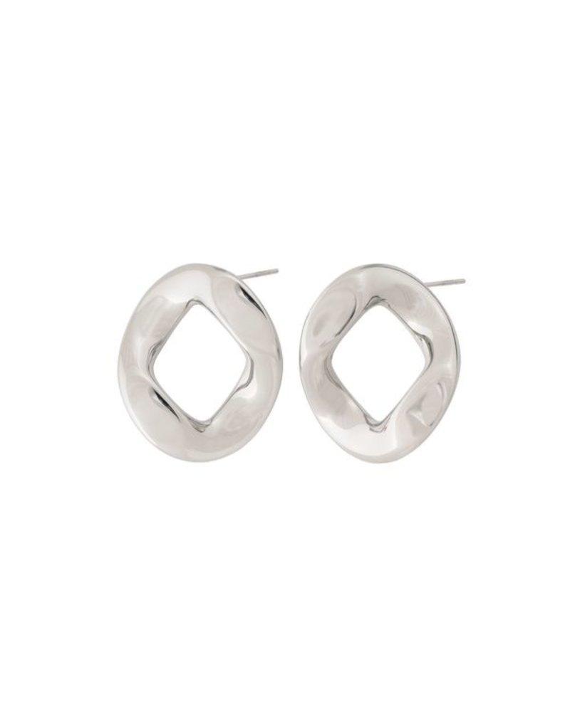 Edblad Edblad Malibu oorbellen | kleur zilver