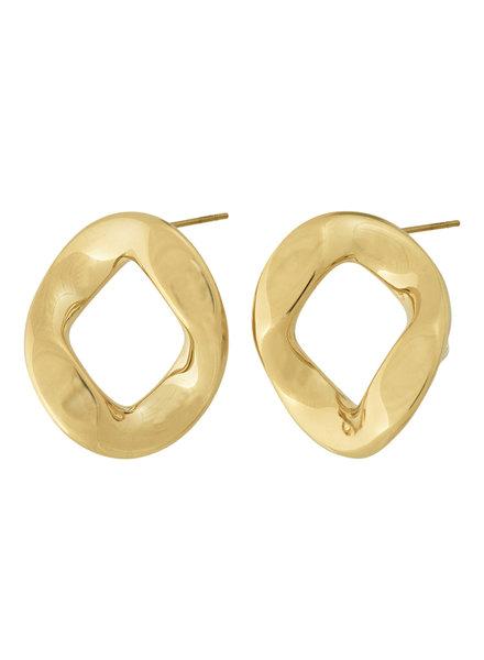 Edblad Malibu oorbellen goud