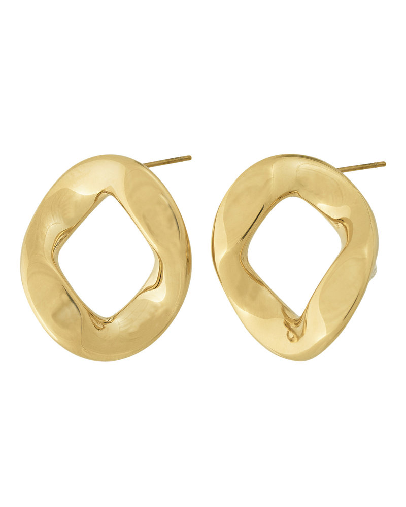 Edblad Edblad Malibu oorbellen | kleur goud