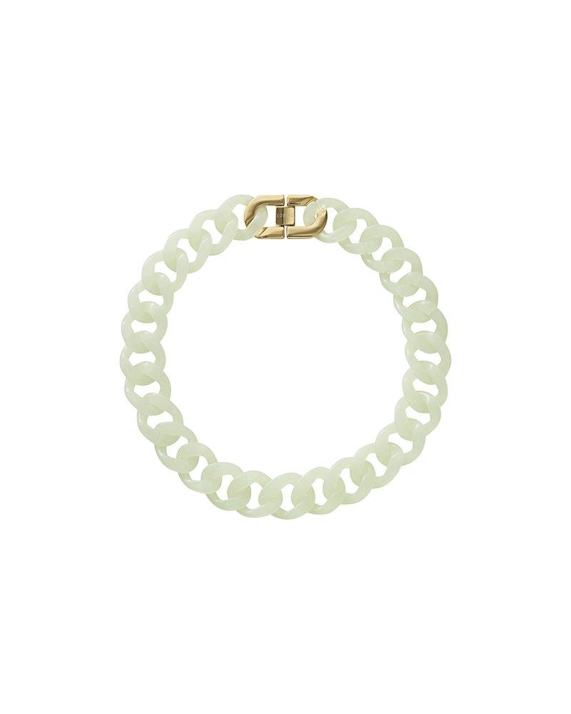 Edblad Edblad Malibu ketting | kleur poolblue/goud