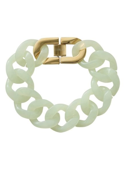 Edblad Malibu armband poolblue/goud