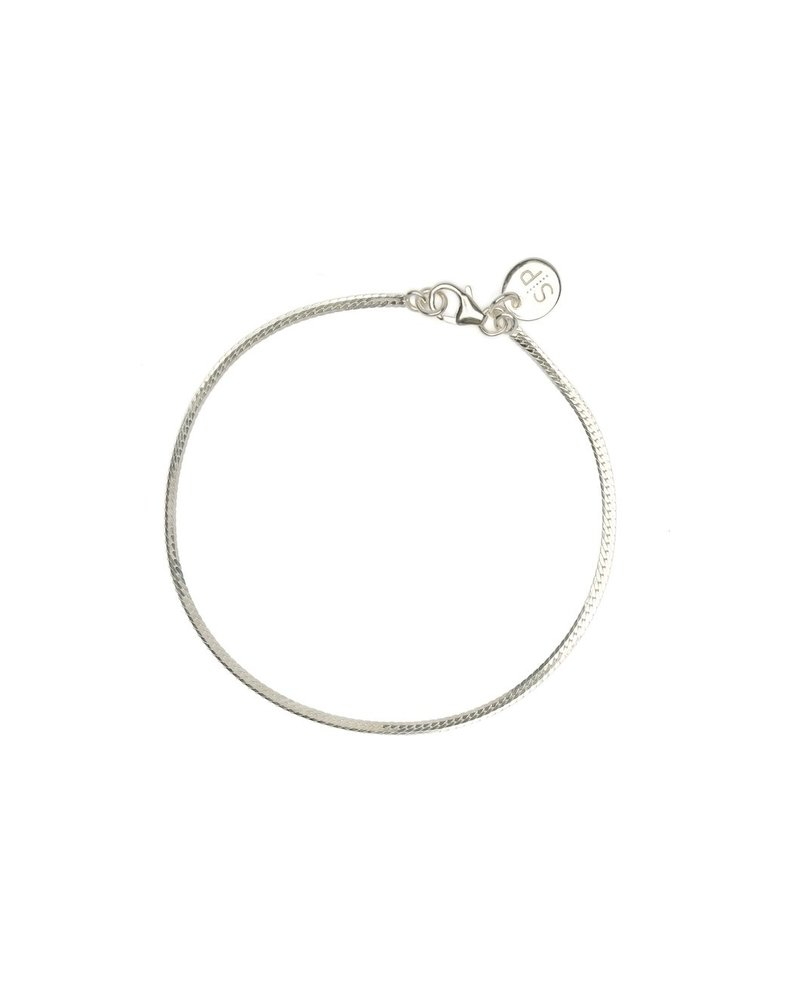 Syster P Syster P Herringbone armband | zilver