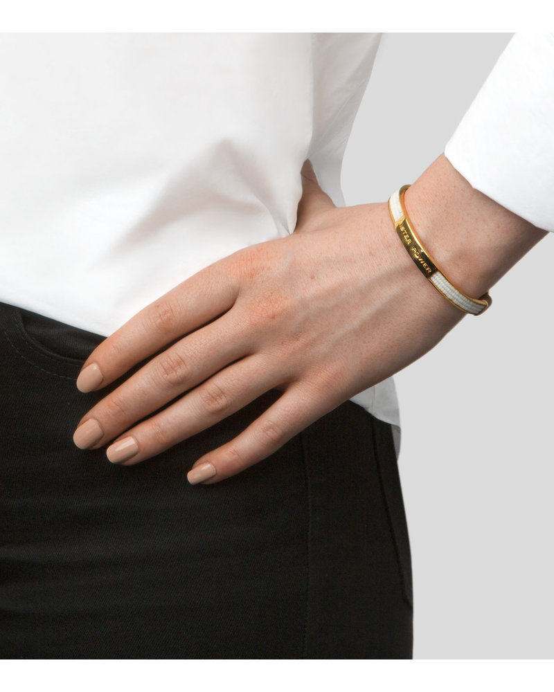 Syster P Syster P Sister Power armband   goud/zwart