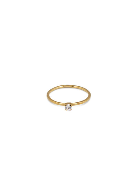 Syster P Tiny Princess ring | goud