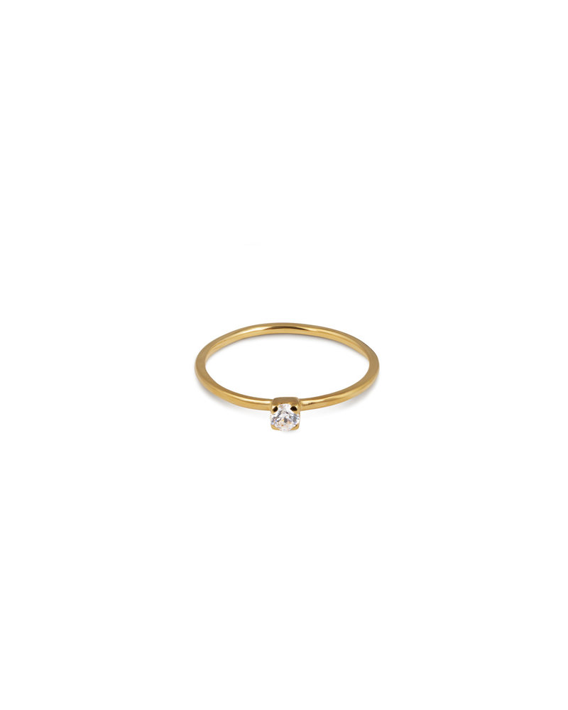 Syster P Syster P Tiny Princess ring | goud