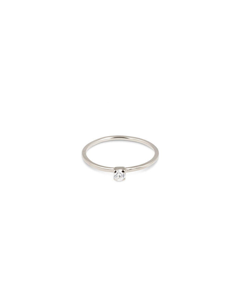 Syster P Syster P Tiny Princess ring | zilver