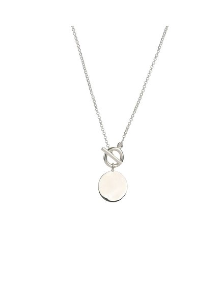 Syster P Links True Love ketting | zilver
