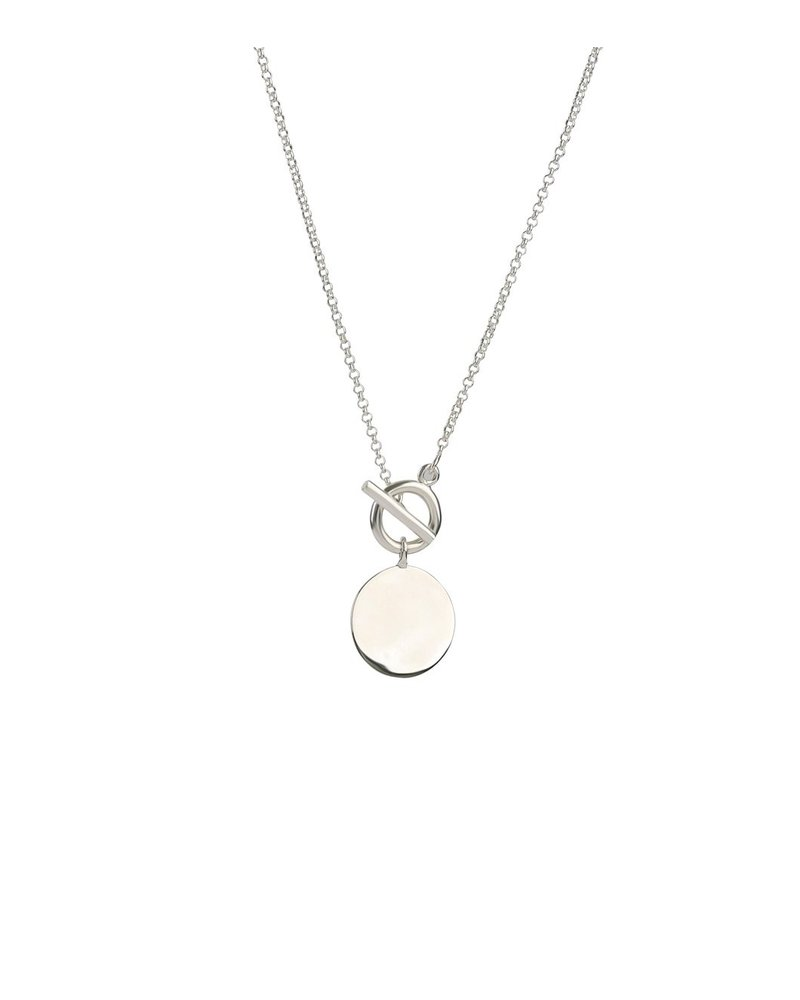 Syster P Syster P Links True Love ketting | zilver