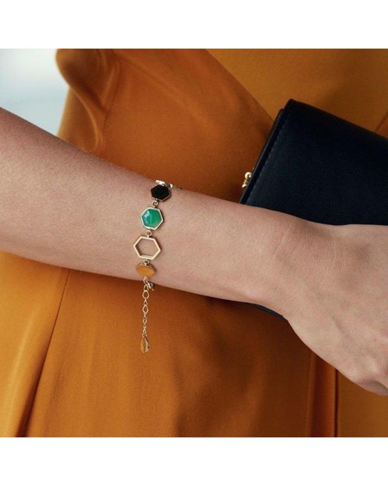 Edblad Edblad Sapphire armband Harmony| kleur goud