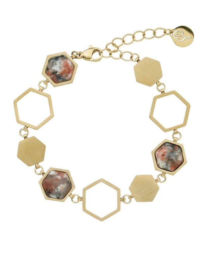 Edblad Edblad Sapphire armband Energy | kleur goud
