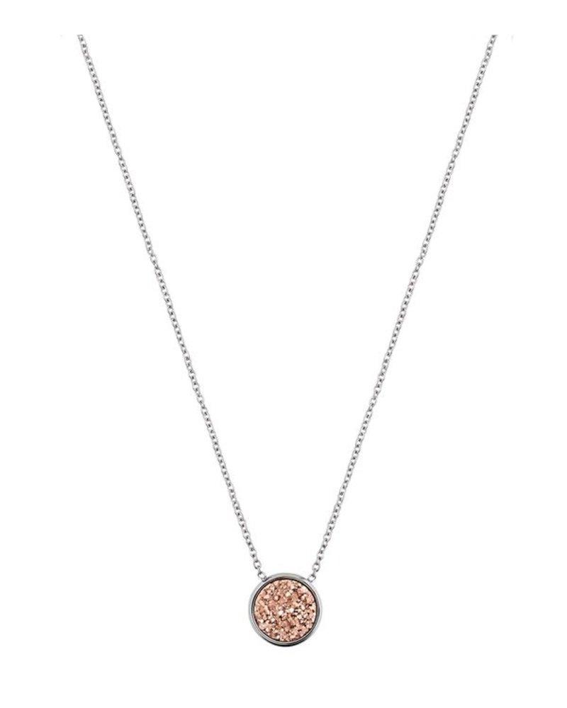 Edblad EDBLAD  Estelle ketting | kleur rose1/zilver