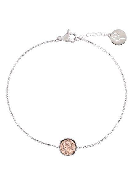 Edblad Estelle armband rosé/zilver