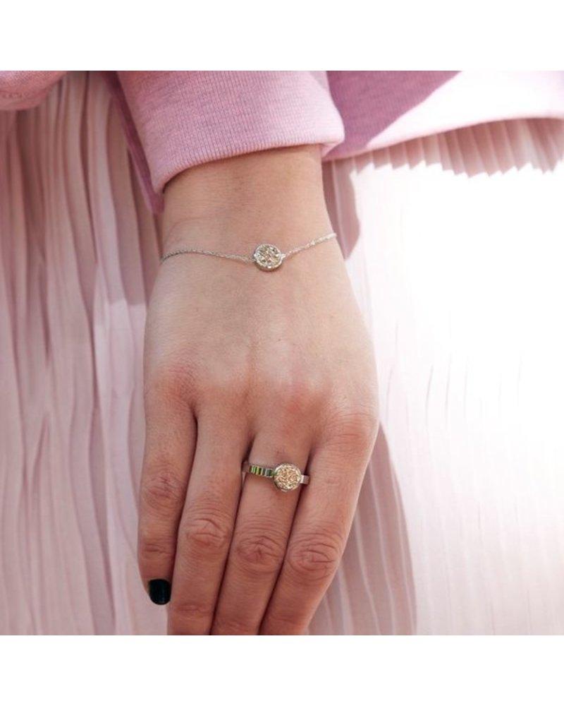 Edblad EDBLAD  Estelle armband | kleur rosé/zilver