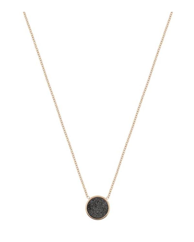 Edblad EDBLAD  Estelle ketting | kleur zwart/goud