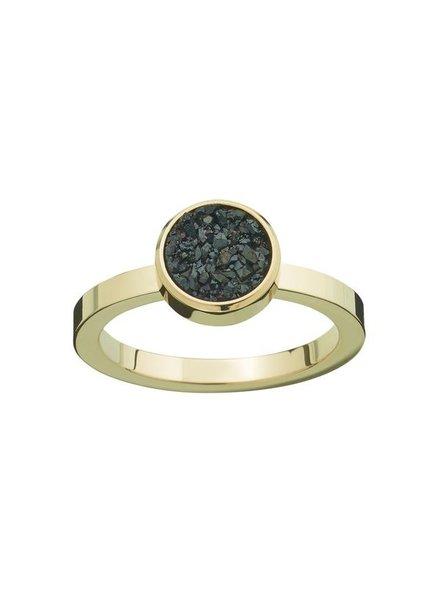Edblad Estelle ring zwart | goud