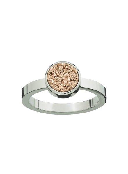 Edblad Estelle ring rosé | zilver