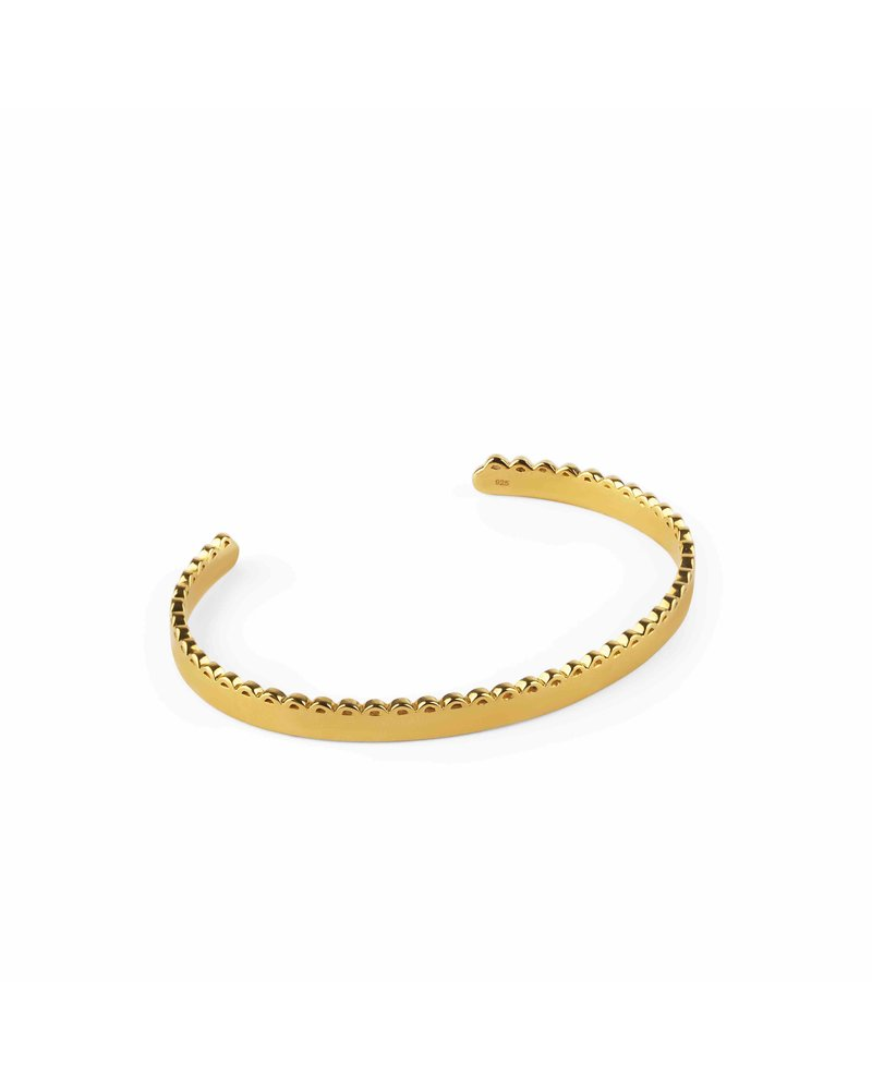 Syster P Syster P Minimalistica bangle | goud