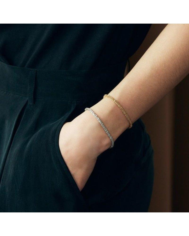 Edblad Tinsel armband steel | 16 - 19 cm