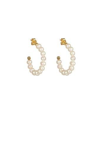 Syster P Pearls oorringen goud