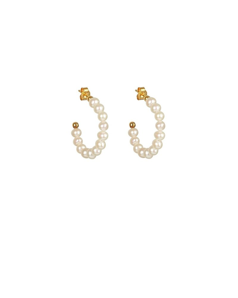 Syster P Syster P Pearls oorringen | goud
