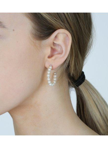 Syster P Pearls oorringen zilver