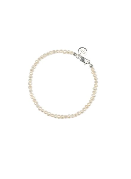 Syster P Beaches mini pearl armband zilver