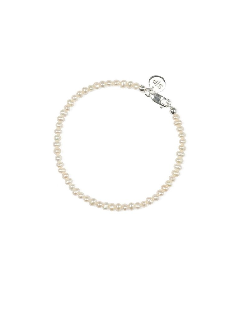 Syster P Syster P beaches mini pearl armband | zilver