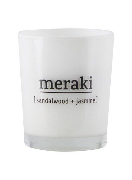 Meraki Meraki Geurkaars sandalwood & jasmijn