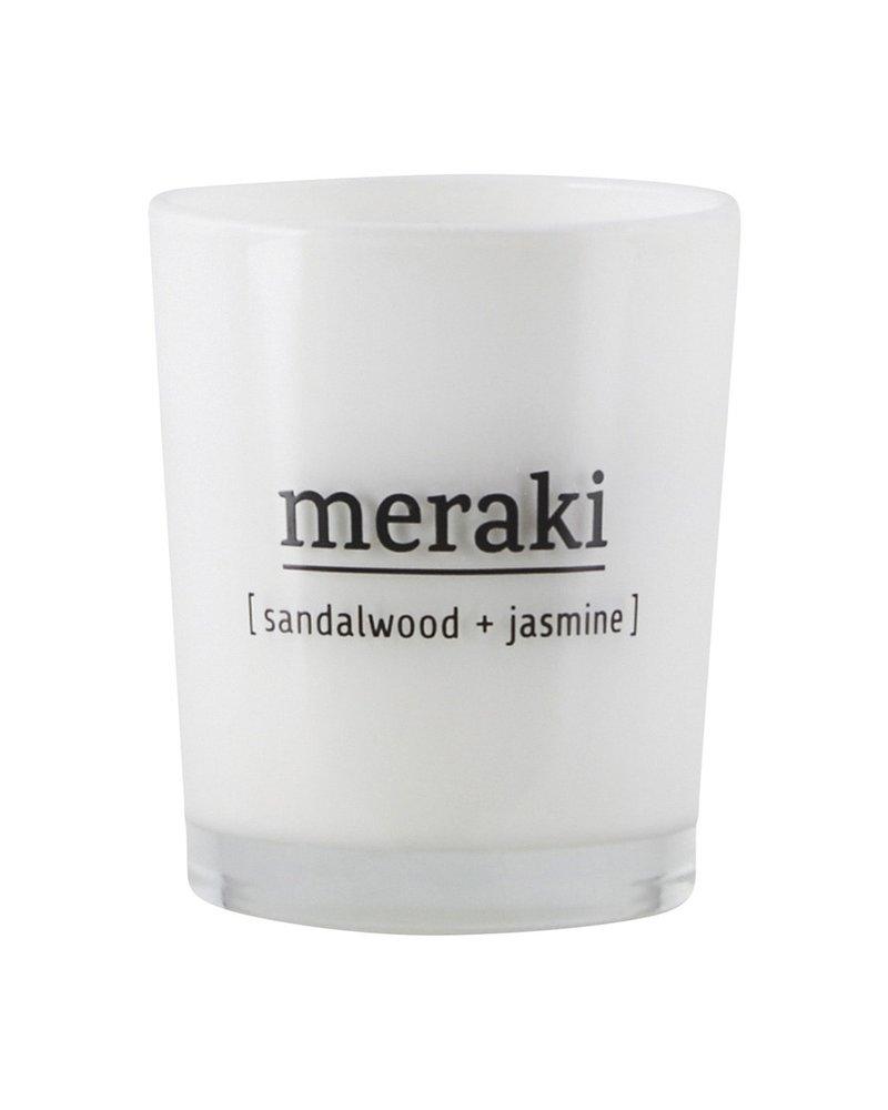 Meraki Meraki geurkaars sandalwood & jasmijn (klein)