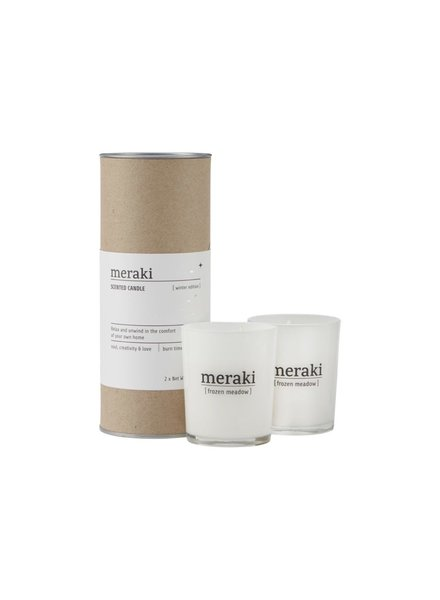 Meraki Meraki geurkaars winter edition