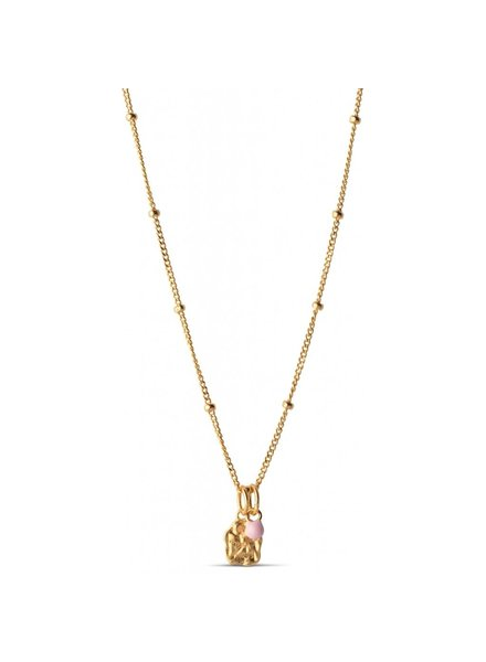 Enamel Delightful ketting | goud
