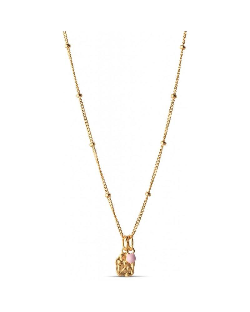 Enamel Enamel Delightful ketting | goud