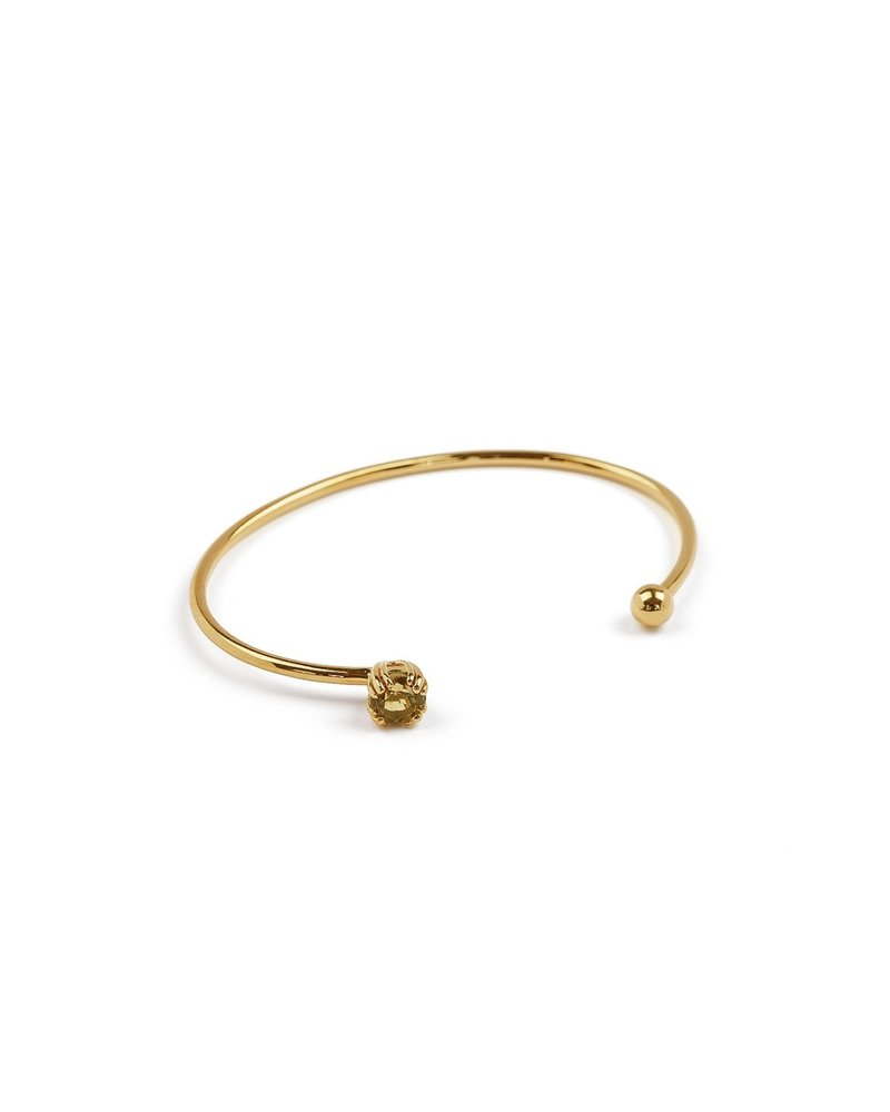 Syster P Syster P Nana bangle light silk | goud