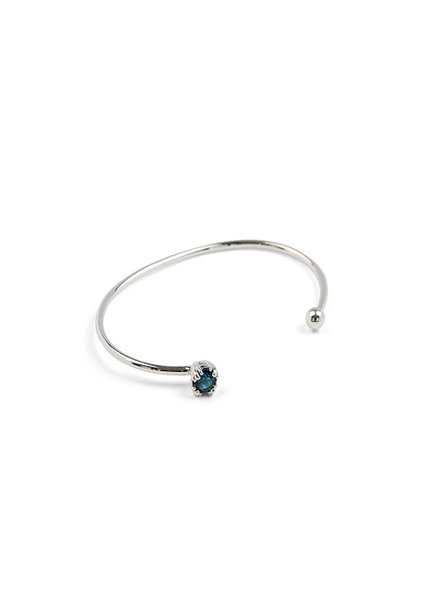 Syster P Nana bangle indian blue zilver