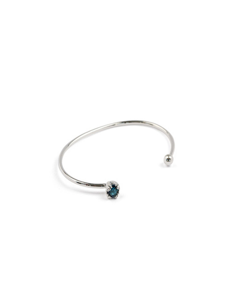Syster P Syster P Nana bangle indian blue | zilver