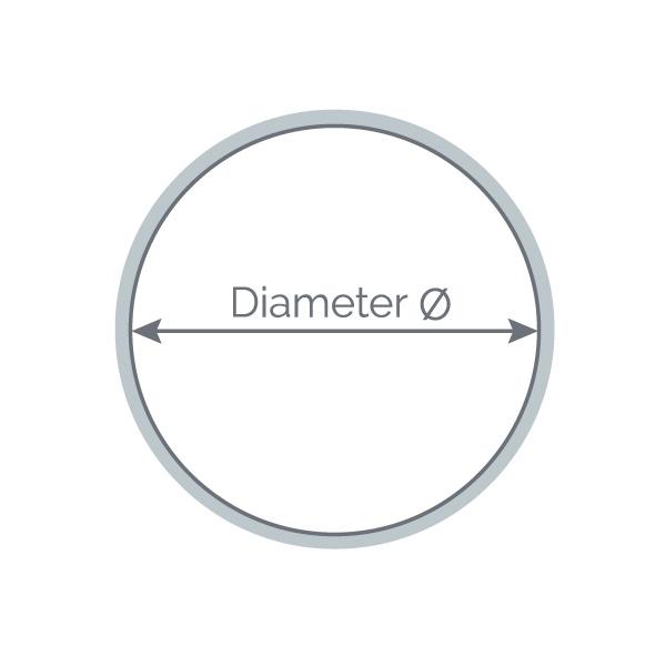 Diameter ringen