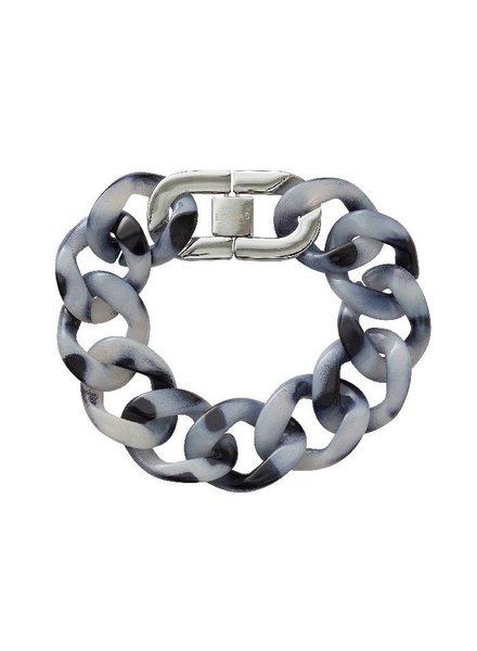 Edblad Malibu armband zwart/zilver