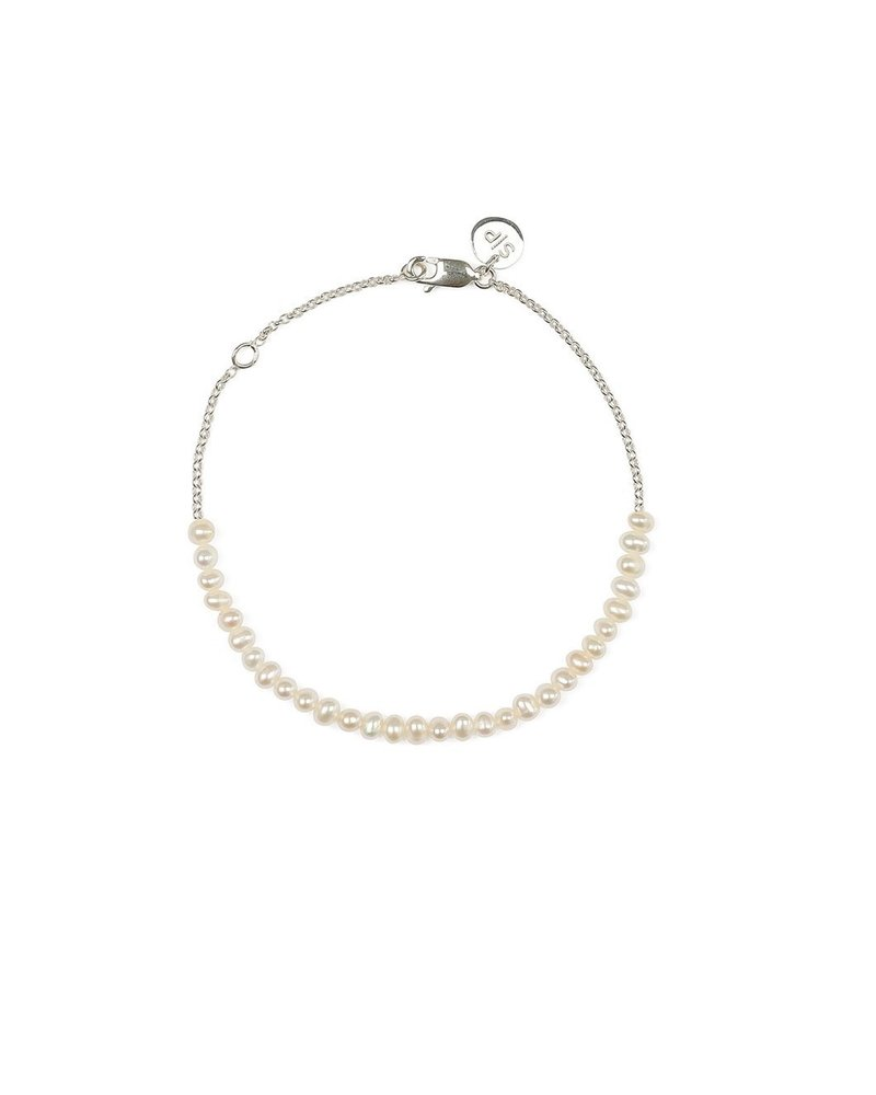 Syster P Syster P beaches mini parel enkelband  zilver