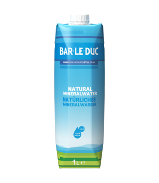 Bar-Le-Duc Mineralwasser still im Karton 6x1ltr