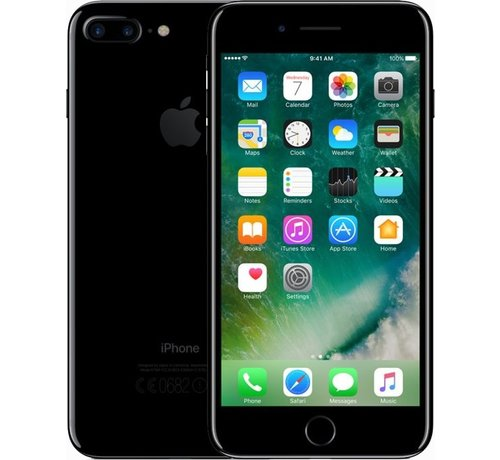 iPhone 7 Plus 128GB Gitzwart